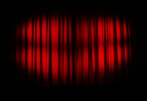 Drawn curtain